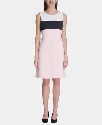 Tommy Hilfiger Pique Colorblocked Dress