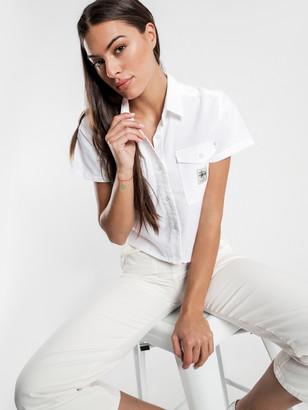 Stussy Ellis Shirt in White