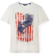 Tom Tailor Flag Motif T-Shirt