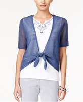 Alfred Dunner St. Augustine Collection Layered-Look Top