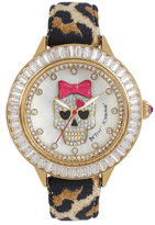 Betsey Johnson BLINGIEST SKULL WATCH