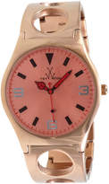 Toy Watch ToyWatch Cuff Only Time Stainless Steel Watch, Rose Golden