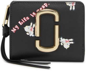 Marc Jacobs X Magda Archer Snapshot leather wallet