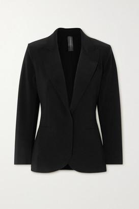 Norma Kamali Stretch-jersey Blazer - Black