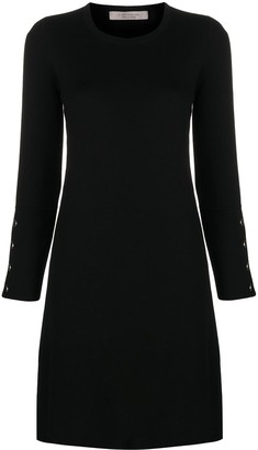 D-Exterior Fine Knit Mini Dress