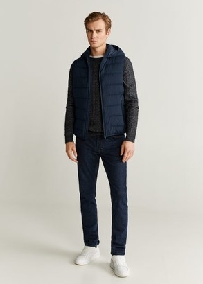MANGO Ultra-light quilted gilet