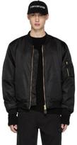 Yang Li Black Ohta Bomber Jacket