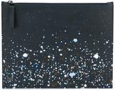 Maison Margiela paint splatter pouch - men - Cotton/Calf Leather/Polyester - One Size