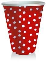 Caspari Dots Paper Cups, 8 Pack