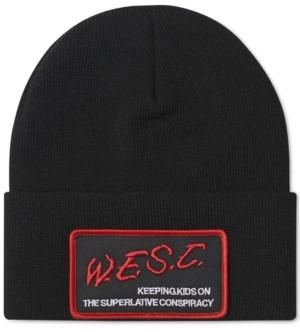 Wesc Men's Logo Beanie