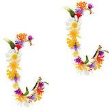 Mercedes Salazar Flower Hoop Earrings