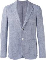 Z Zegna notched lapel blazer - men - Linen/Flax/Cotton/Polyester - 50