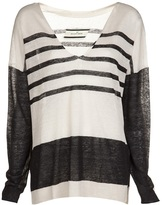 By Malene Birger Relaxed striped sweater