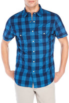 Alex Mill Navy Check Western Shirt