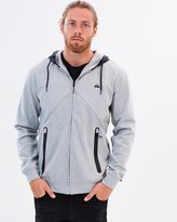 Quiksilver Mens Active Nylon Zipped Hoodie