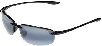 Maui Jim Ho'okipa Reader Asian Fit 2.50 (Gloss Black/Neutral Grey) Sport Sunglasses