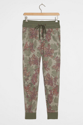 Anthropologie Mixed-Knit Joggers By in Green Size XS