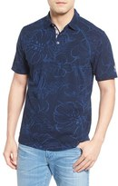 Tommy Bahama Men's 'New York Yankees - Fairweather Fronds' Print Pique Polo