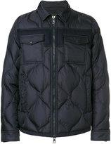 Moncler Stephan jacket - men - Feather Down/Polyamide/Wool - 4