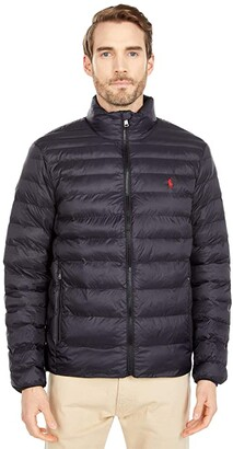 Polo Ralph Lauren Packable Down Jacket (Polo Black) Men's Clothing