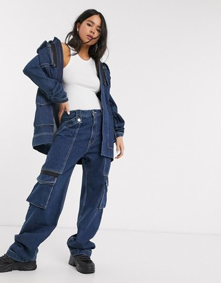 House of Holland utility denim jeans co-ord
