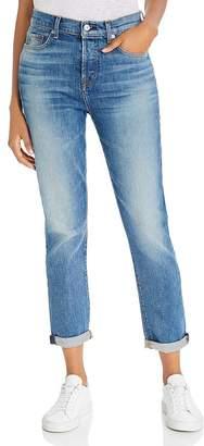 7 For All Mankind Josefina High-Waist Boyfriend Jeans in Telluride