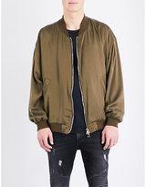 Balmain Blouson Silk Bomber Jacket
