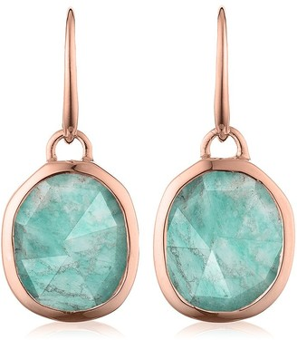 Monica Vinader Siren Wire Amazonite earrings