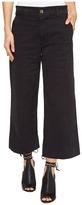 Lucky Brand Wide Leg Crop in Lucky Black Women's Jeans