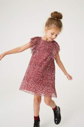 Next Girls Animal Sparkly Floaty Dress (3-16yrs) - Animal