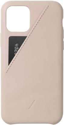 Native Union Clic Card iPhone 11 Pro Case - Nude