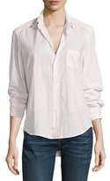 Frank And Eileen Eileen Button-Front Shirt, Light Pink