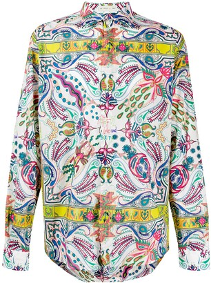 Etro Mixed Print Shirt