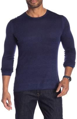 John Varvatos Solid Pullover Sweater