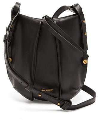 Isabel Marant Okaya Mini Leather Cross-body Bag - Womens - Black