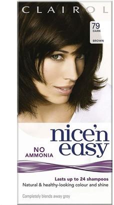 Clairol Nice 'N Easy No Ammonia Hair Dye Dark Brown 79