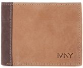 Andrew Marc Two-Tone Leather Bifold Wallet