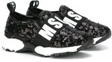 MSGM sequin embellished sneakers
