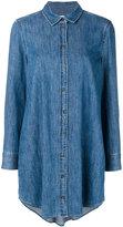 Equipment denim shirt dress - women - Cotton - S