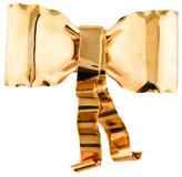Alexis Bittar Large Gold Bow Cuff