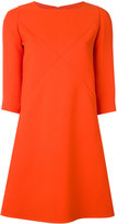 Courreges short x cut-out dress - women - Silk/Polyester/Wool - 34