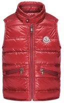 Moncler Boy's 'Gui' Water Resistant Quilted Down Vest