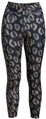 Years Of Ours Veronica Leopard-Print Leggings