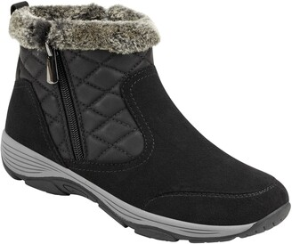 Easy Spirit Vance Faux Fur Water-Resistant Boot