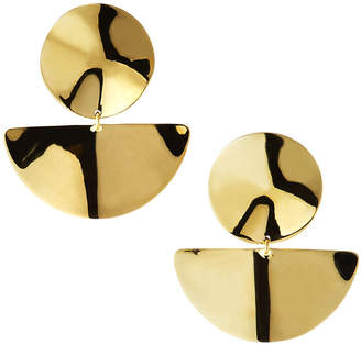 Ippolita 18K Classico Medium Wavy Disc Earrings
