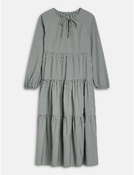 Closed Poplin Maxi Dress - XS .