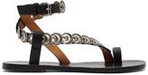 Isabel Marant Black Ermony Sandals