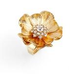 Kate Spade Women's Precious Poppies Crystal Ring