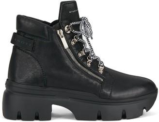 Giuseppe Zanotti Chunky Sole Lace-Up Boots