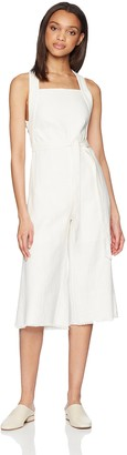 Lucca Couture Women's McKenna Cross Strap Wide Leg Jumpsuit